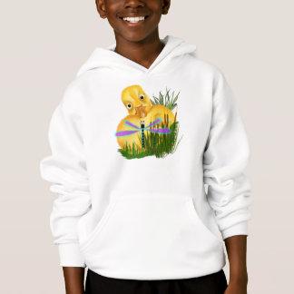 Baby-Enten-und Libellen-Shirts Hoodie