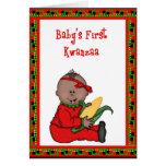 Baby-erste Kwanzaa-Gruß-Karte