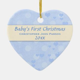 Baby-erste Weihnachtsverzierung Keramik Ornament