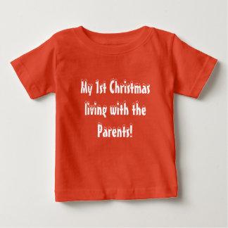 Baby-erstes Weihnachten Baby T-shirt