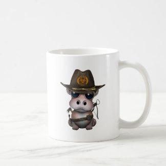 Baby-Flusspferd-Zombie-Jäger Kaffeetasse