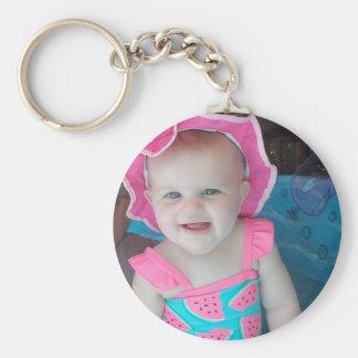 Baby-Foto-personalisierte Schlüsselkette Schlüsselanhänger