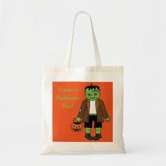 Baby Frankenstein Süßigkeitssack Budget Stoffbeutel