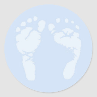 Baby-Fuß-Aufkleber