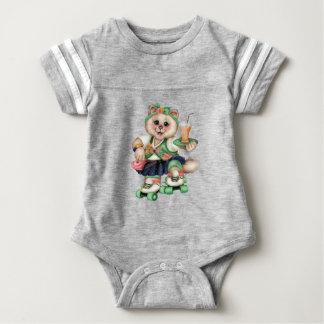 Baby-Fußball-Bodysuit ROLLECAT NIEDLICHER Baby Strampler