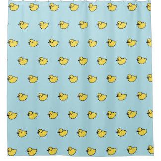 Baby-gelber Enten Duckies Badezimmer-Duschvorhang Duschvorhang