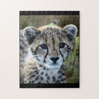 Baby-Gepard-Puzzlespiel Puzzle