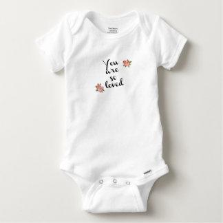 Baby Gerber BaumwollShirt Baby Strampler