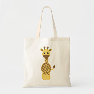 Baby-Giraffe Budget Stoffbeutel