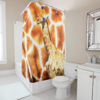 Baby-Giraffe Duschvorhang