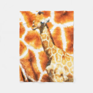 Baby-Giraffe Fleecedecke