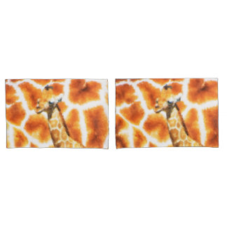 Baby-Giraffe Kissen Bezug