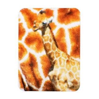 Baby-Giraffe Magnet