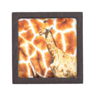 Baby-Giraffe Schachtel