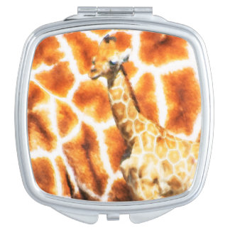 Baby-Giraffe Schminkspiegel