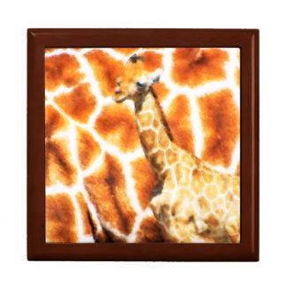 Baby-Giraffe Schmuckschachtel