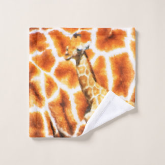 Baby-Giraffe Waschlappen