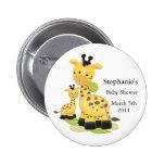 Baby-Giraffen-Baby-Knopf Button