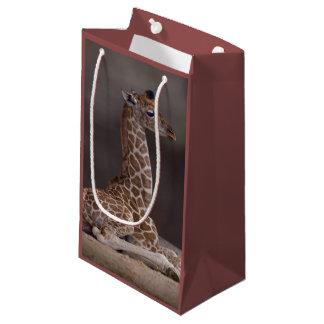 Baby-Giraffen-Geschenk-Tasche Kleine Geschenktüte