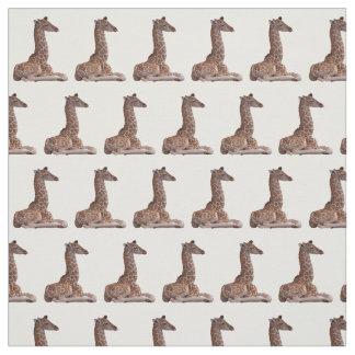 Baby-Giraffen-Gewebe (wählen Sie Farbe) Stoff