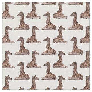 Baby-Giraffen-Raserei-Gewebe (wählen Sie Ihre Stoff