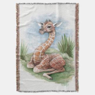 Baby-Giraffen-Wurfs-Decke Decke