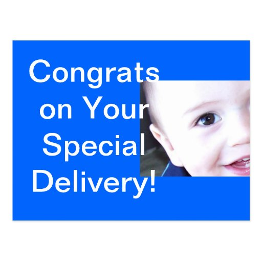 Baby-Glückwunsch des Babys O Postkarten