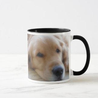 Baby, goldener Retriever-Hundezucht-Tasse Tasse