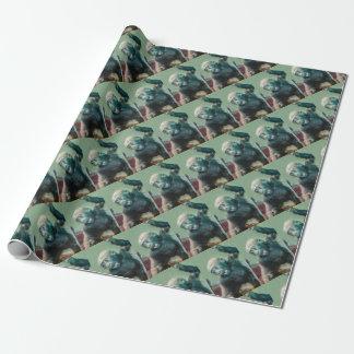 Baby-Gorilla Geschenkpapier