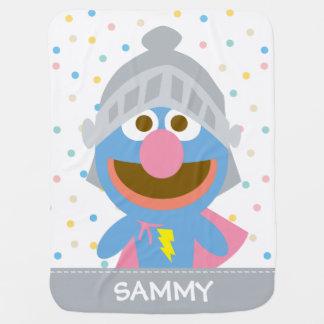 Baby Grover in Rüstung | addieren Ihren Namen Puckdecke