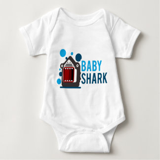Baby-Haifisch Baby Strampler
