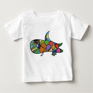 Baby-Haifisch - folgen Sie Ihrem Traum Baby T-shirt
