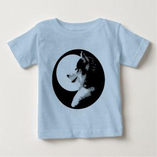 Baby-heisere Shirt-Schlitten-Hundebaby-T-Shirts T Shirts