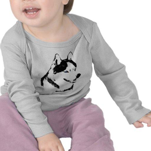 Baby-heisere Shirt-Schlitten-Hundekleinkind-Schlit