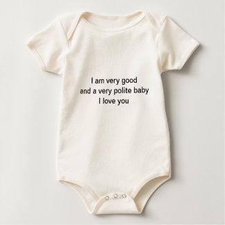 Baby höflich bodys