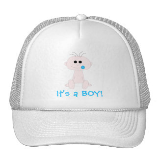 Baby-Hut-Schablone Trucker Caps
