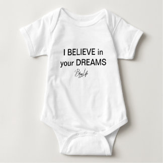 Baby I glauben an Ihre Träume Baby Strampler