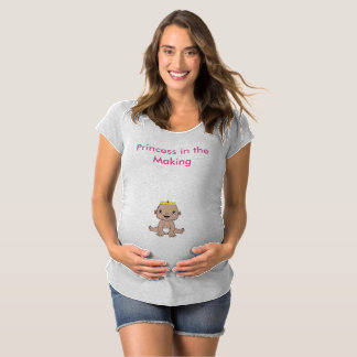 Baby im machent-stück Umstands-T-Shirt