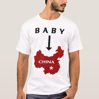 Baby in der China T-Shirt