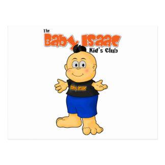 Baby-Isaac-T - Shirt-Bild Postkarte
