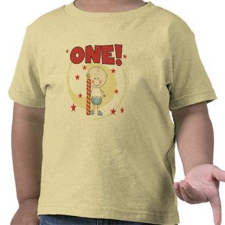 Baby ist die ein die 1. Geburtstags-T-Shirts und