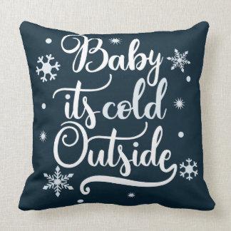 Baby ist es Doppelfarbe der kalten Außenseite Kissen