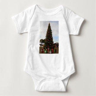 Baby-Jersey-Bodysuit des Weihnachtsbaum-#5-3 Baby Strampler