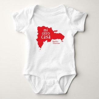 Baby-Jersey-Bodysuit DOMINIKANISCHE REPUBLIK Baby Strampler