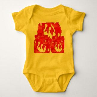 Baby-Jersey-Bodysuit Hemden