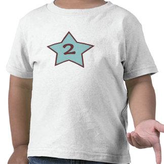Baby-Jungen-2. Geburtstags-Shirt