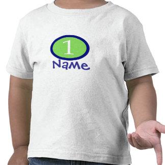 Baby-Jungen-personalisiertes erstes T Shirt