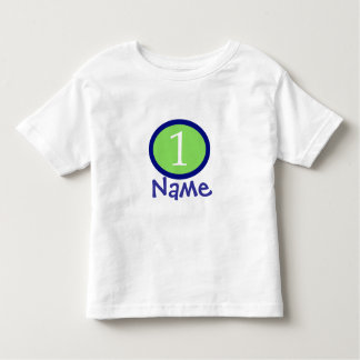 Baby-Jungen-personalisiertes erstes T-shirt