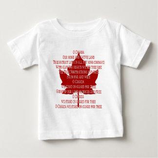 Baby-Kanada-Hymnen-T - Baby T-shirt