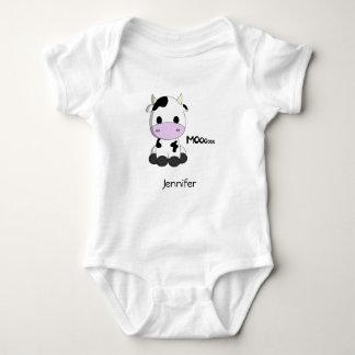 Baby kawaii Kuh-Cartoonname Baby Strampler